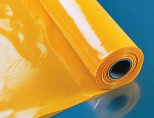 baufol db gelb 0 2mm dampfbremsfolie 100m 2x50 dampfsperre pe folie ebay. Black Bedroom Furniture Sets. Home Design Ideas