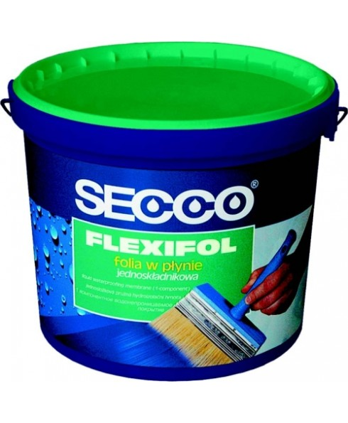 SECCO Flexifol Flüssigfolie Dichtfolie Abdichtung - für Innen - 7kg