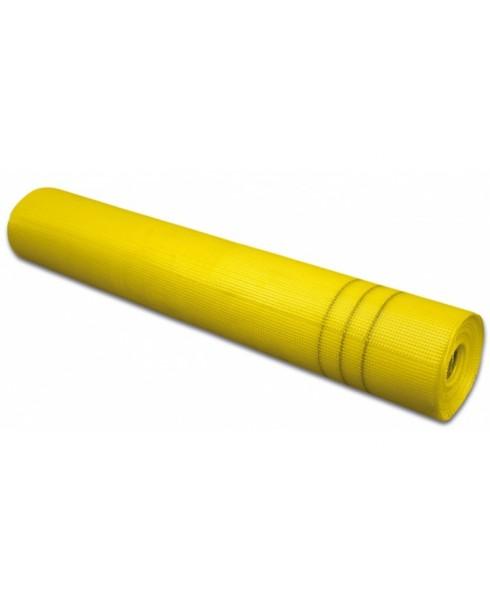 Rednet E 160g Armierungsgewebe Gittergewebe Putzgewebe Glasfasergewebe Gewebe 4mm x 4mm - 50m² - gelb