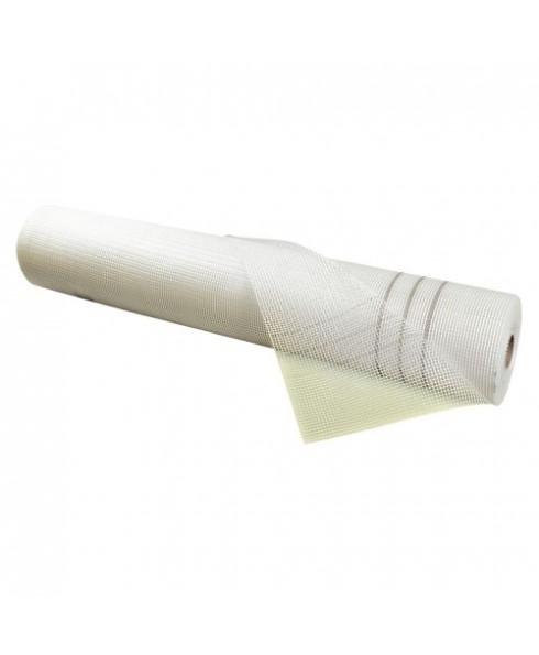 Rednet E 160g Armierungsgewebe Gittergewebe Putzgewebe Glasfasergewebe Gewebe 4mm x 4mm - 50m² - weiß