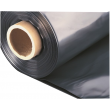 BAUFOL 0.2mm - 2m x 25lfm - Baufolie Abdeckfolie Estrichfolie PE FOLIE 50m² SCHWARZ
