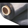 BAUFOL 0.2mm - 5m x 20lfm - Baufolie Abdeckfolie Estrichfolie PE FOLIE 100m² SCHWARZ