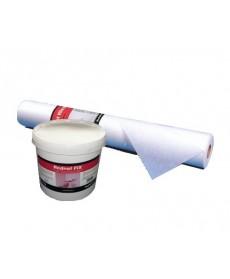 VLIES-PAKET: Rednet VLIES 1m x 50lfm (50m²) + Rednet Fix Klebstoff 12kg