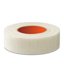 REDNET Fugenstreifen Gewebestreifen Trockenbau Selbstklebend Gewebeband Putzband - 45mm x 150lfm