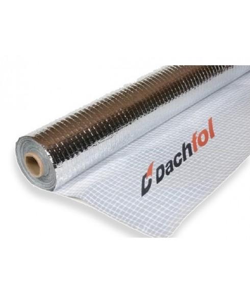 ALU DACHFOL 110g 75m² Aluminium Dampfsperrbahn Dampfsperre Dampfsperrfolie