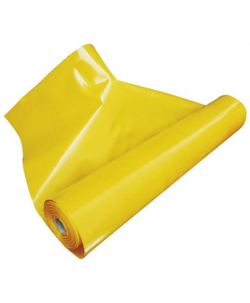BAUFOL 0,2mm - 3m x 50lfm - Dampfsperre Dampfbremsfolie Dampfsperrfolie Dachfolie 150m² GELB