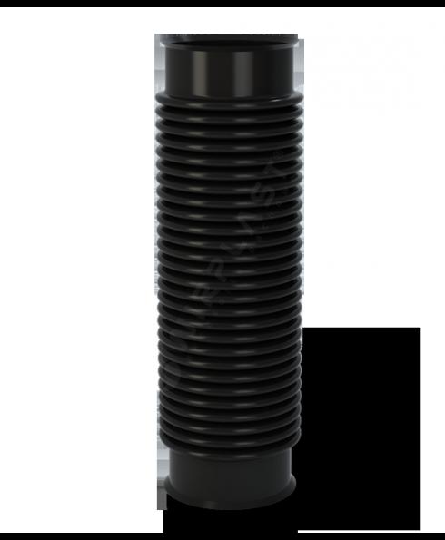 Ruroflex - elastischer Anschlussschlauch für Dunstrohr Dachentlüfter DN 110 mm