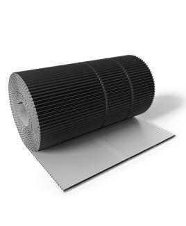 COROMIN® ALU - 300mm x 5m - Kaminanschluss Wandanschluss Aluminium - viele Farben